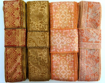 Silk Sari borders, Sari Trim SR411