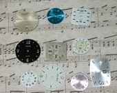 10 Watch Face Lot, Steampunk Parts