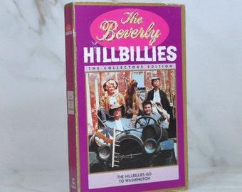 Vintage VHS Tape 1990 CBS Video The Beverly Hillbillies Collector's Edition The Hillbillies Go To Washington 1970 - Millionaire - Oil