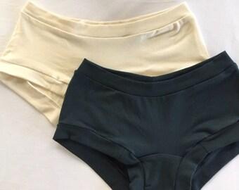 Organic Wonderpants For Women - Truly comfortable organic underpants.