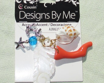 Summer Accent Charms -  Jewelry Making Supplies