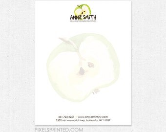 8.5x11 letterhead - full color front, blank back - 70 lb. smooth white paper - FREE design - FREE UPS ground shipping