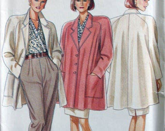 6568 New Look misses jacket and trousers sizes 6 8 10 12 14 16 18 sewing pattern