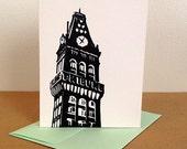 MultiPack - 5 Black Oakland Tribune Tower Cards