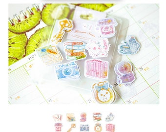 Diary Scrapbook Sticker Label Pack Daily Somethings