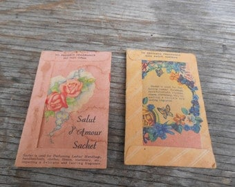 2potpourri sachets vintage
