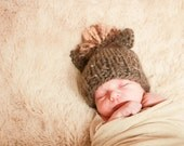 kids hat pony or horse hat newborn, 6 months, or 12 months photo prop