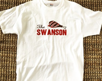 "Parks and Rec ""The Swanson"" Men's Large Shirt"