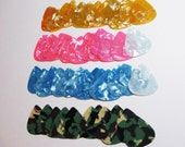Guitar Picks Celluloid Pearloid for Jewelry Making and Crafts 50