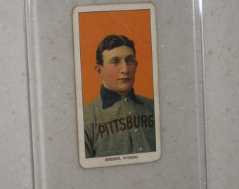 1909 t206 honus wagner with carolina brights cigarettes awesome vg card only 1 available in a screwdown case