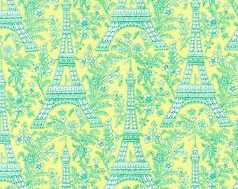 Eiffel Tower (Sprout) - Michael Miller Fabrics - 1 Yard
