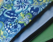 SALE Three Pack Eco-PUL Sandwich Bags in Blue Calypso