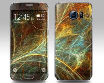 CHAOS Galaxy Decal Galaxy Skin Galaxy Cover Galaxy S6 Skin, Galaxy S6 Edge Decal Galaxy Note Skin Galaxy Note Decal Cover