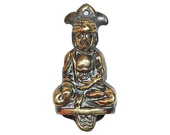 Holy Man Vintage Brass Door Knocker Spiritual Greeter