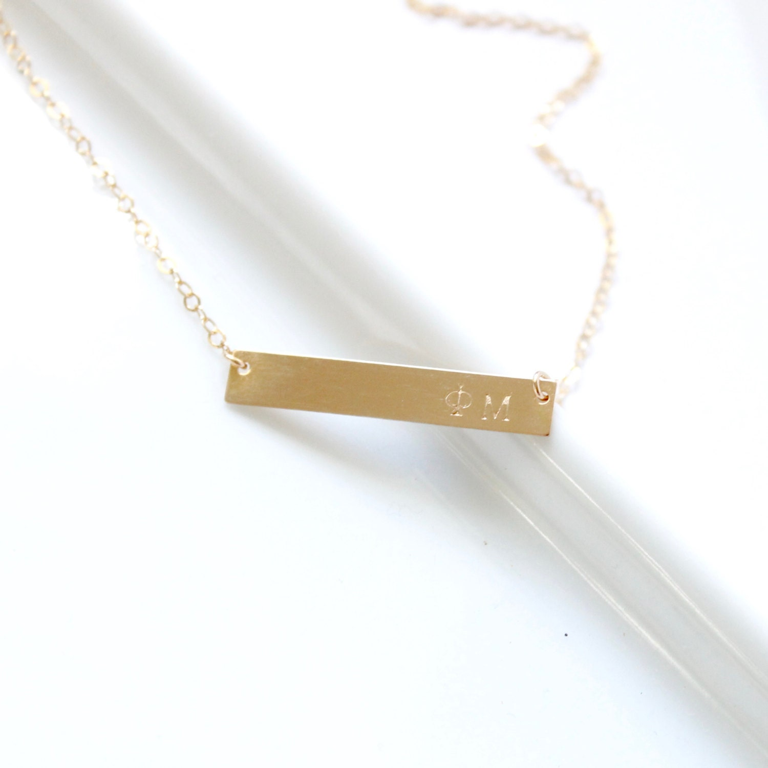 phi mu sorority necklace jewelry sted bar
