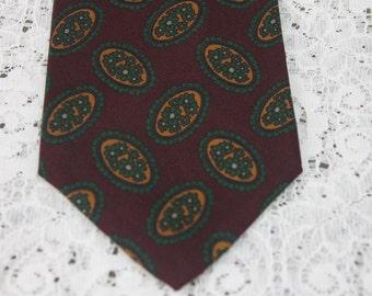 Vintage Nordstrom Tie Silk Hand Sewn England