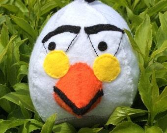 White Angry Bird