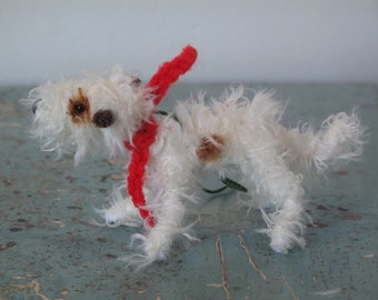 Wire-haired Jack Russel decoration.