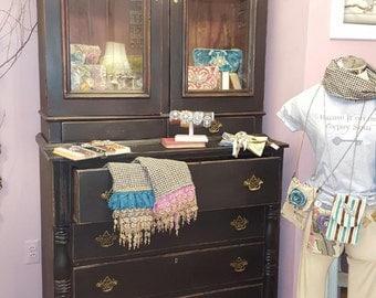 Antique Chloe Shabby Chic Cabinet