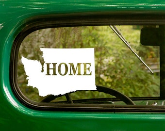 Washington State Decal, Car Decal, State Sticker, Laptop Sticker, Washington Sticker, Bumper sticker, Vinyl Decal, Car Stickers