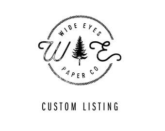 Custom order for Cherie