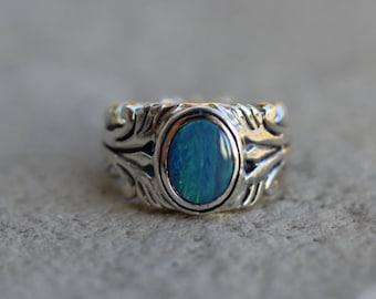 Dream Weaver Opal Ring