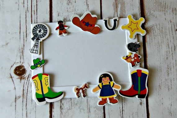 Cowboy Themed Craft Kit Magnet Craft Ranch Party