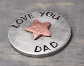 Golf Ball Marker, Father's Day Gifts, Pewter Golf Market, Golf Gifts, Golf Accessories, Gifts For Dad, Golf Accessories, Gifts for Him