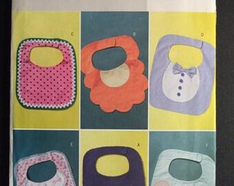 Butterick Sewing Pattern 4533 Baby Bibs