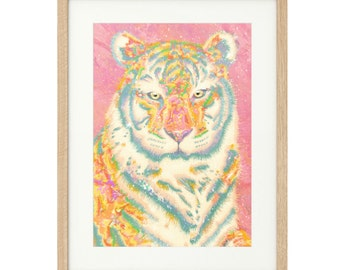 Kenneth the Fabulous - Tiger - Large - Limited Edition Print
