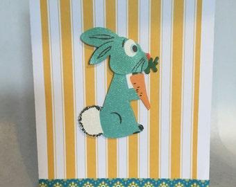 Retro Rabbit Card