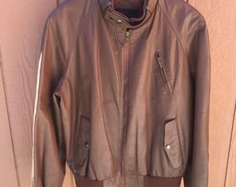 1980's Leather Jacket