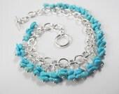 Sleeping Beauty Turquoise Bracelet, High Quality Turquoise, Sterling Silver Bracelet, Turquoise Jewelry, Southwest Style Luxury