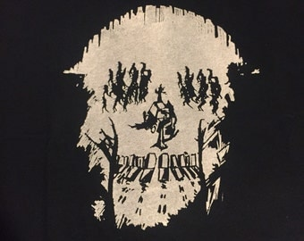 Mark of The Beast zombie skull shirt