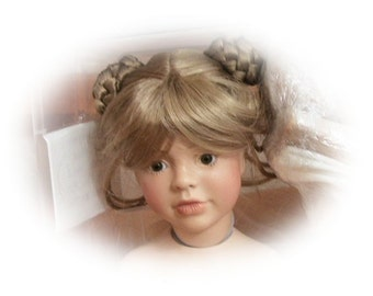 "DIY Reproduction Porcelain Doll Kit Tiffany. When  finished she is a  20 "" Doll.   Mold sculptor was Linda Mason"