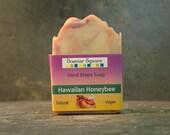 Hawaiian Honeybee Scented Shea Butter Hand Made Soap