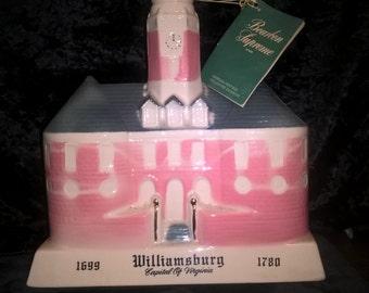 Jim Beam Williamsburg Decanter