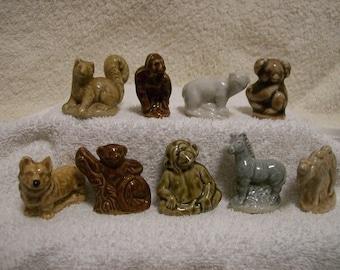 Wade Minature Animals Set of  9