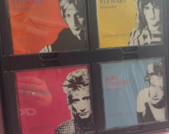 Rod Stewart's Storyteller, The Complete Anthology 1964-1990, Greatest Hits CD 1990, Warner Brothers, CD, 90's, vintage music, Greece