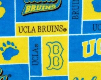 UCLA Bruins Football Fleece Sports Baby Blanket