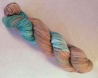 Wil on Max 80/20 SW Merino Nylon Hand dyed fingering weight sock yarn