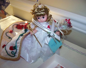 Rose Queen Madame Alexander doll reduced in price!