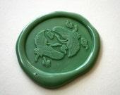 Double Crane Gruidae Bird Wax Seal Stamp | Designer Series - Heypenman | Heypenman crossover with BlackmarketIntl