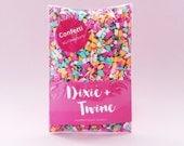 Confetti 'Jelly Bracelets'/ summer party/ fiesta forever party/ aloha tiki party/ wedding confetti favour/ confetti popper