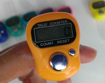 Digital Row Counter for Knitting and Crocheting,Free LCD Counter