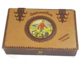 Vintage Souvenir Windsor Canada Box
