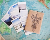 Custom passport cover for Eric