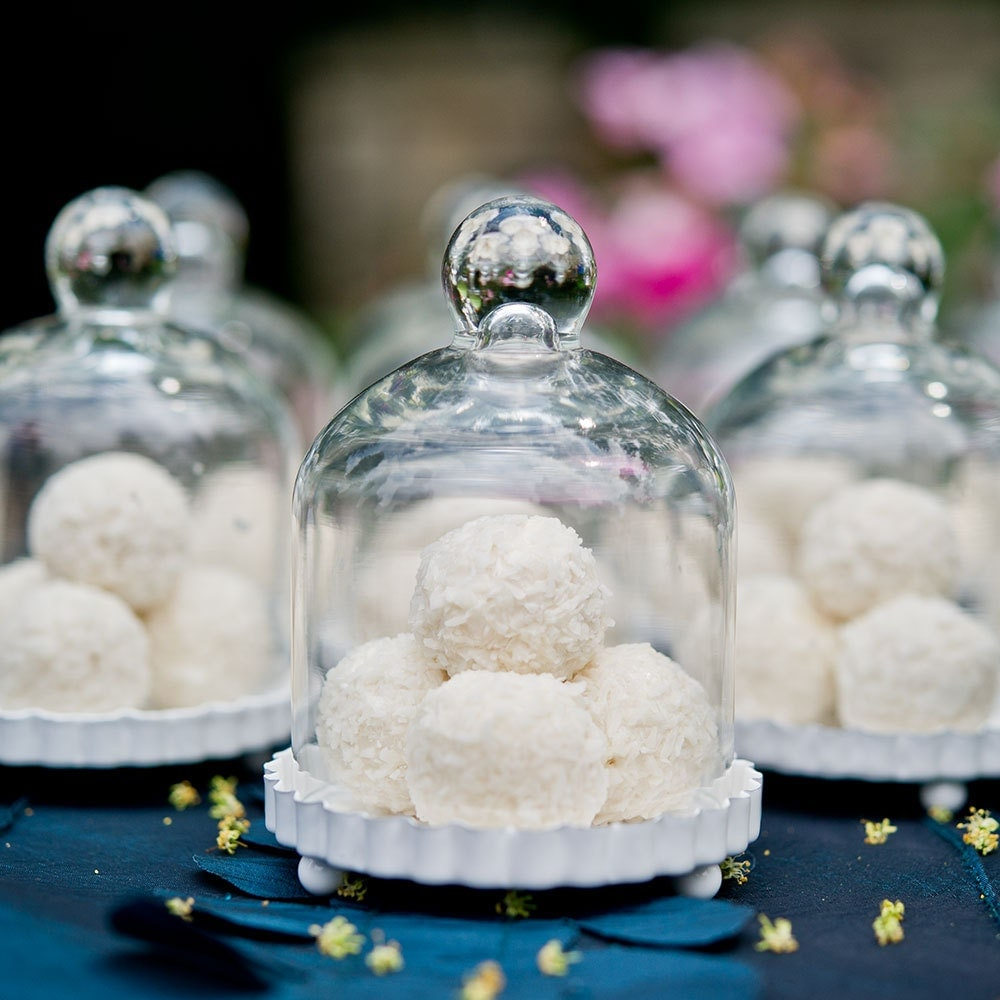 Craft Jars, Party Dome Bell Jars, Miniature Glass Bell Jar Fluted ...