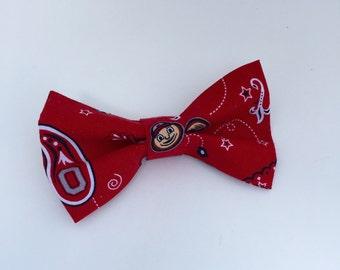 Buckeye Bow Tie