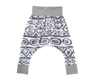 All the Grey Classic Harem Pants.